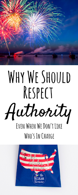 Respecting Authority Is Important Regardless of Whether We Like the Person Or Not