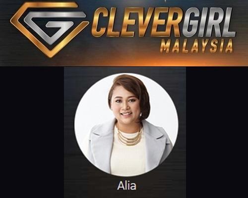 Biodata Alia Clever Girl Malaysia 2017, profile Alia, biografi, profil dan latar belakang Alia Clever Girl Malaysia TV3 2017 musim 2, foto, gambar Alia Clever Girl Malaysia musim kedua