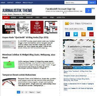 JURNALISTIK THEME