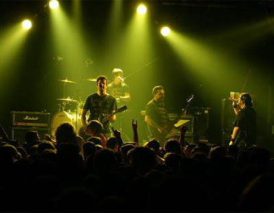 Foto de Molotov en el escenario