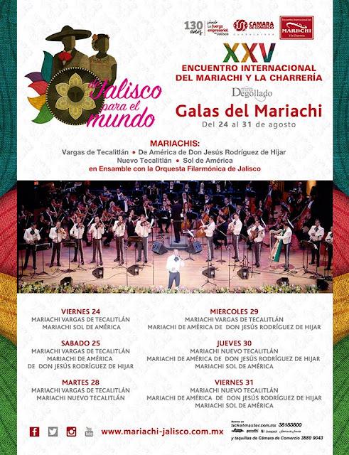 galas de mariachi 2018 teatro degollado