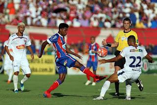 Bahia de Feira e Bahia empatam primeiro jogo da final
