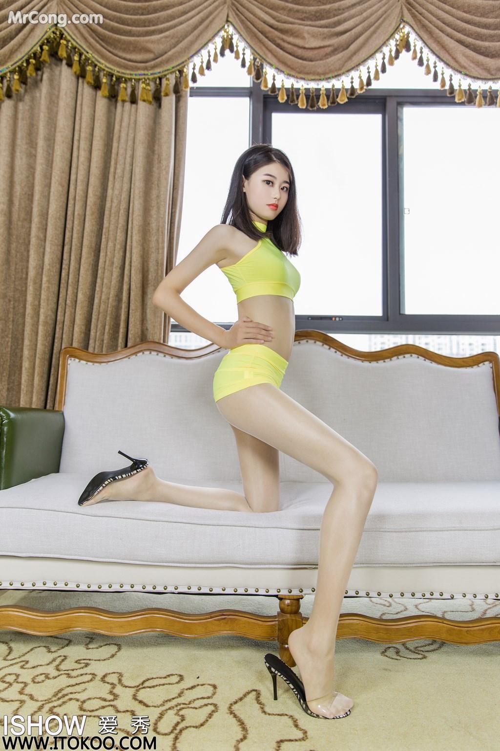 Image ISHOW-No.176-Liu-Yue-Fei-Phoebe-MrCong.com-008 in post ISHOW No.176: Người mẫu Liu Yue Fei (刘玥菲Phoebe) (31 ảnh)