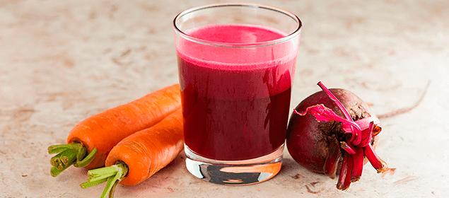 jugo de betabel para tratar la anemia