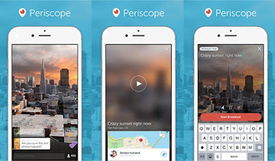 Periscope video live streaming