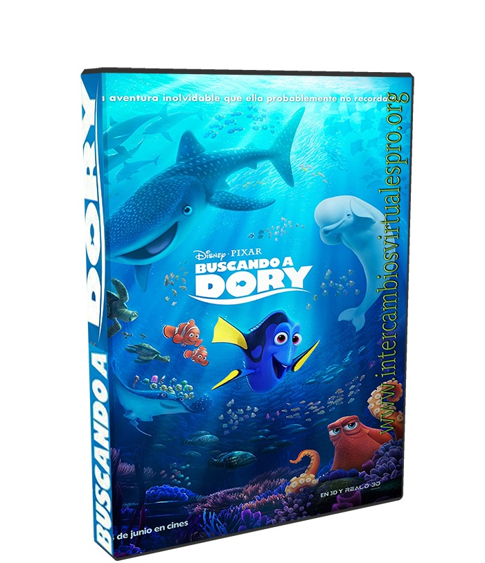 Buscando a Dory poster box cover