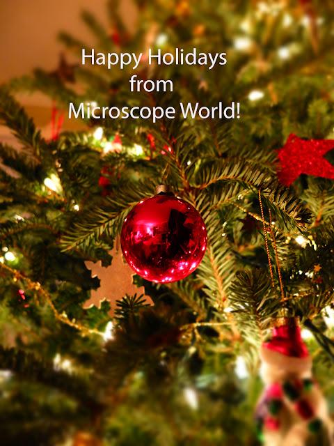 Happy Holidays from Microscope World!