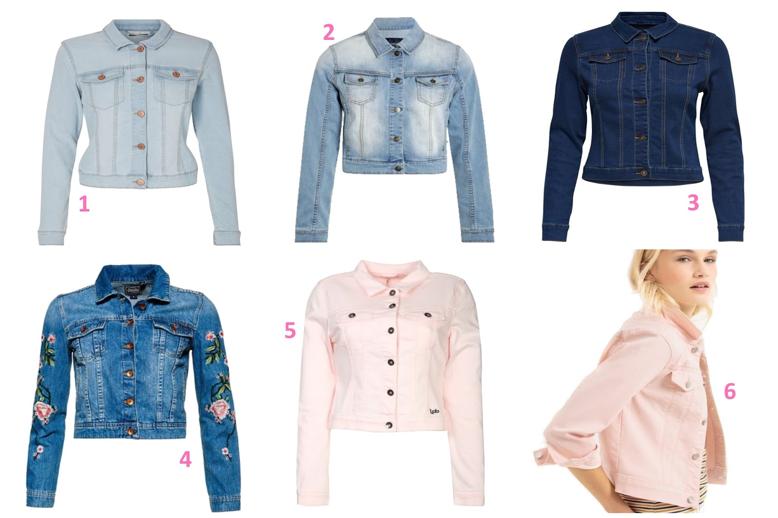 selection veste en jean quelle veste saison ete printemps wishlist