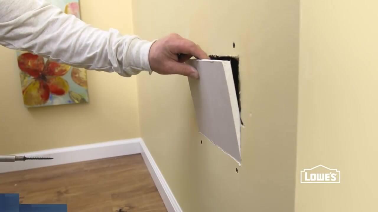 Diy Cmo reparar paredes de Drywall  How to Repair