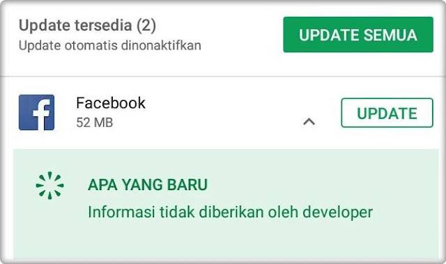 Facebook Update Terbaru Fitur