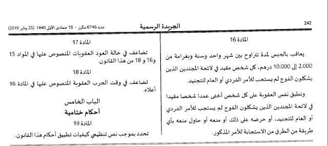 هذه هي العقوبات التي تنتظر المتخلفين عن التجنيد الاجباري