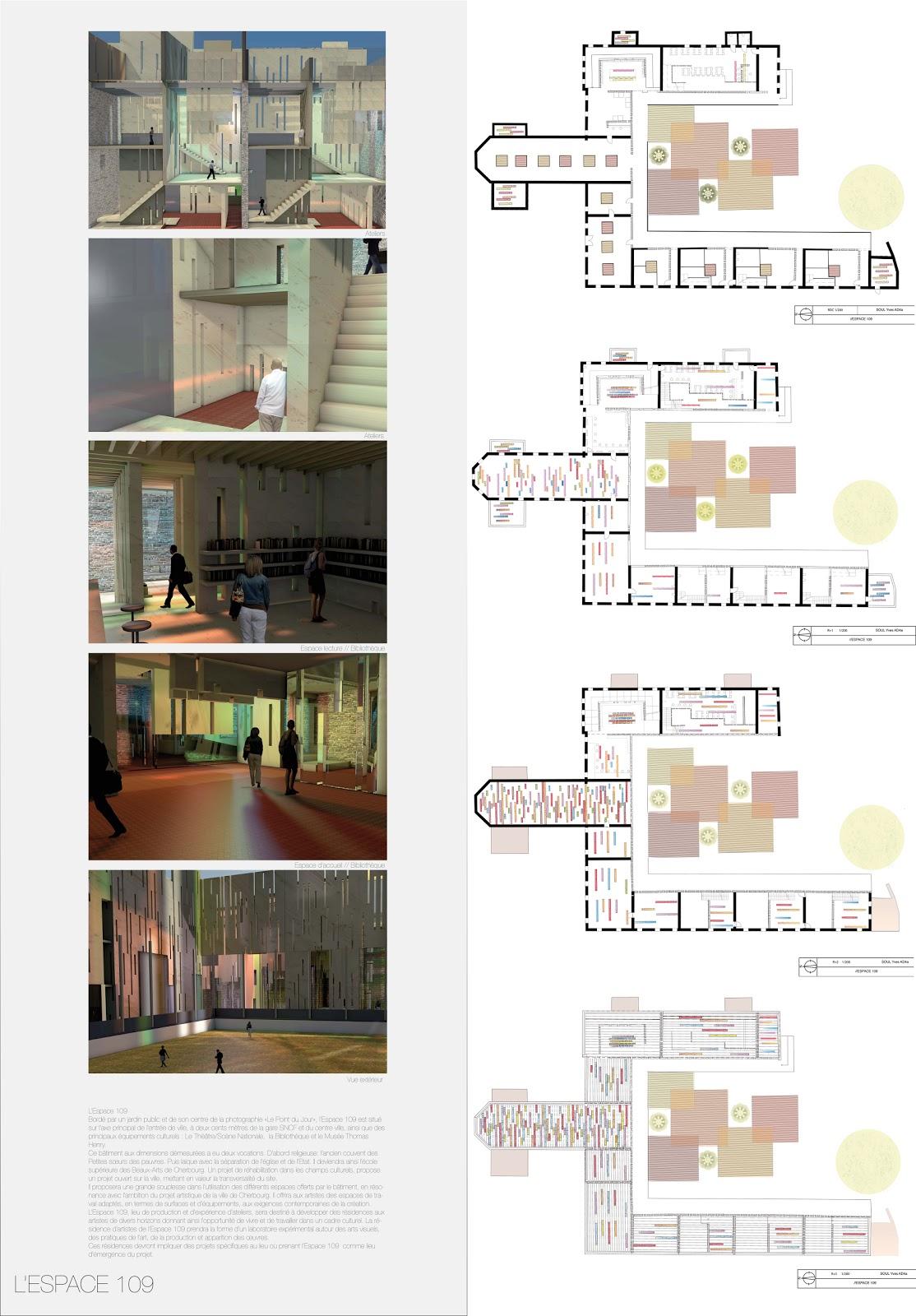 yves soul diplome d 39 architecture d 39 int rieur l 39 espace 109. Black Bedroom Furniture Sets. Home Design Ideas