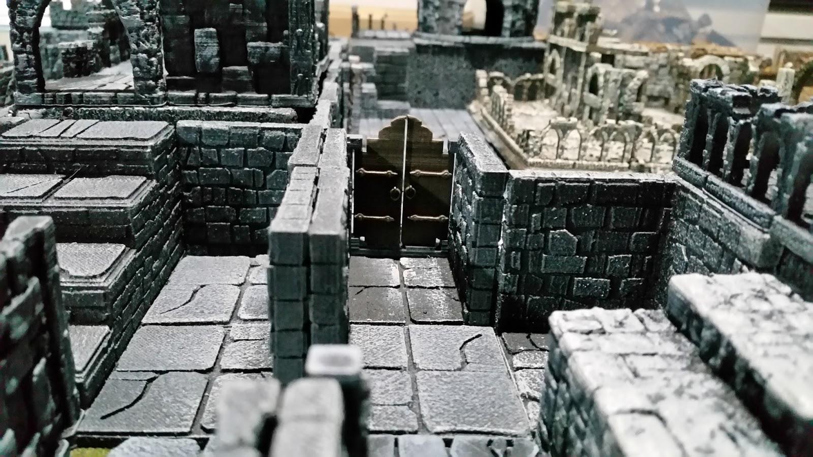 The Dice Odyssey: Printable Scenery's Apocalypse Ruins