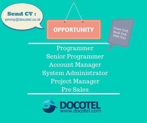 Lowongan Programmer Docotel.com
