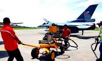 Petugas Crew Skuadron 16 Ungkapkan 1 F-16 Berisi Sekian Liter Bahan Bakar