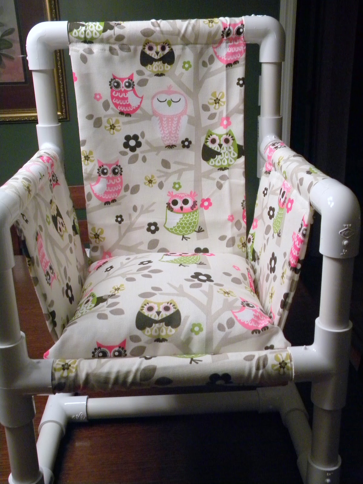 owl chair for kids unfinished dining me and my crafties pvc