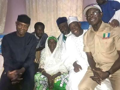 Osinbajo Visits President Buhari's Eldest Sister In Daura