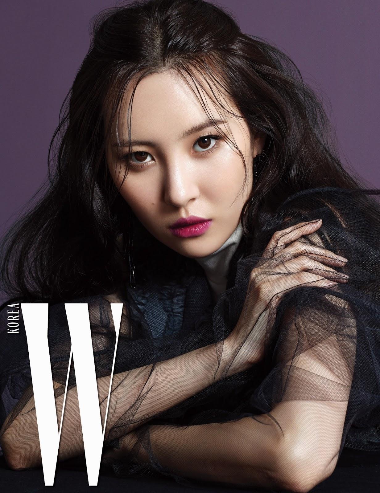 Sunmi Models Hera Fall Lipsticks in W Korea - POPdramatic