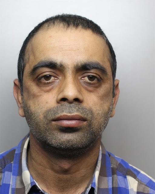 Sacked pervert cabbie Qamar Zaman, 40, of Stockbridge, Keighley, jailed for sex attack on girl, 14