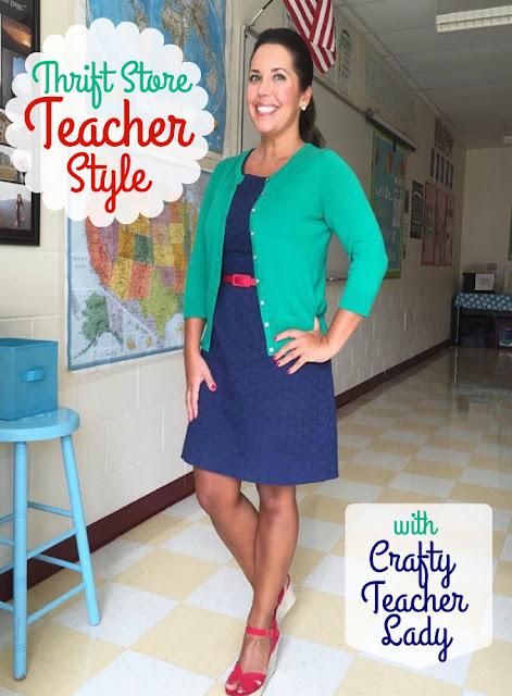 Thrifted Teacher Style Ideas