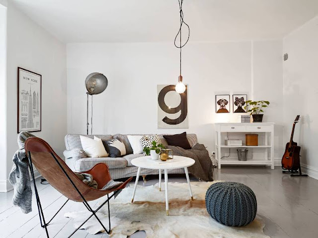 apartamento nórdico maravilloso