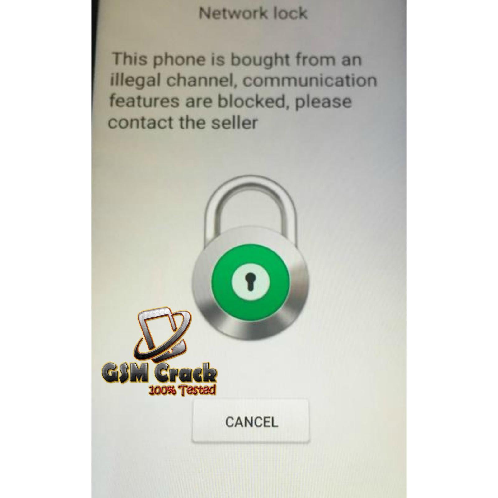 Oppo A3s (CPH1803) Network Unlock Demo Unlock Code 100