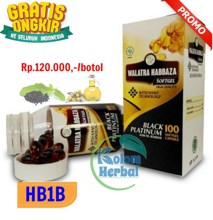 Walatra Habbaza 100 Softgel