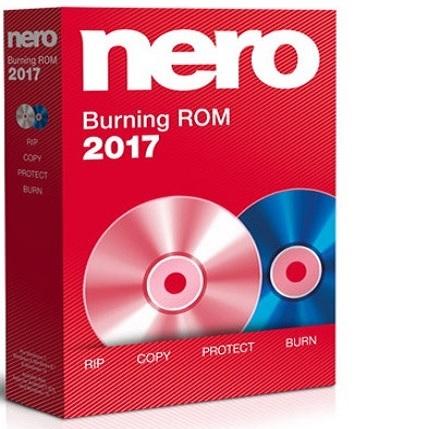 Nero Burning ROM 2017 18.0.01300 poster box cover