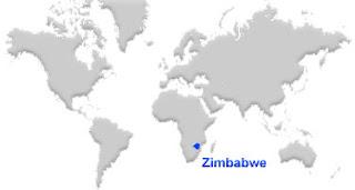 image: Zimbabwe Map location