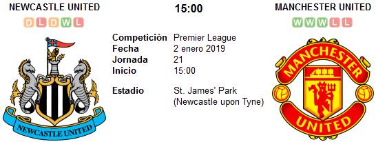 Newcastle United vs Manchester United en VIVO