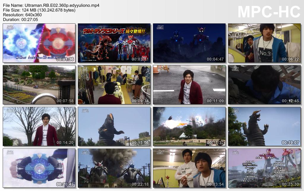 Let's Fun With Us !!: Ultraman R/B (2018) Episode 02 [Indonesia]