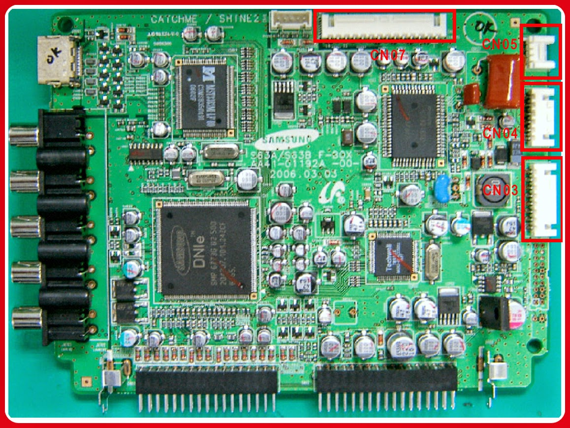 SAMSUNG CRT TVWS32Z30HPQ  SMPS (Power) and Deflection