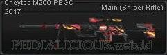 Cheytac M200 PBGC 2017