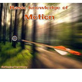 Basic knowledge of motion