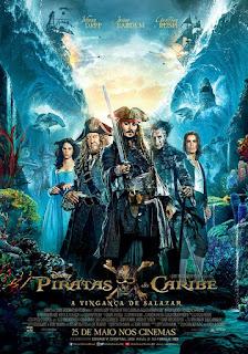 Piratas do Caribe: A Vingança de Salazar Dublado Online