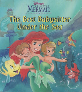 Livro Ariel A Melhor Babysitter no Mar