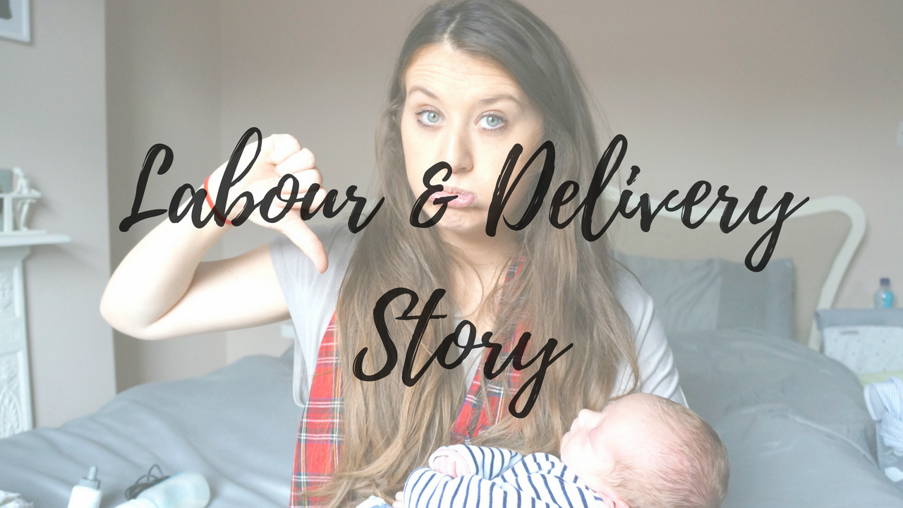Labour & Delivery Story | 39 Hour Labour & Emergency C-Section