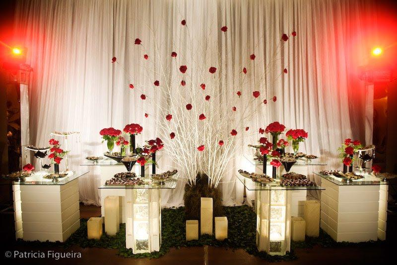 Casamento Perfeito Decorao Vermelha