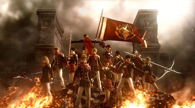 Penjelasan Cerita Final Fantasy Type-0
