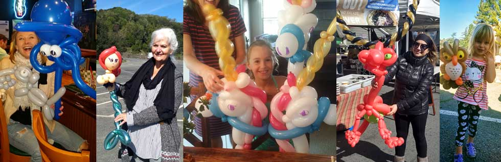NE Ohio Balloon Twisters - Bay Area Balloon Twisters