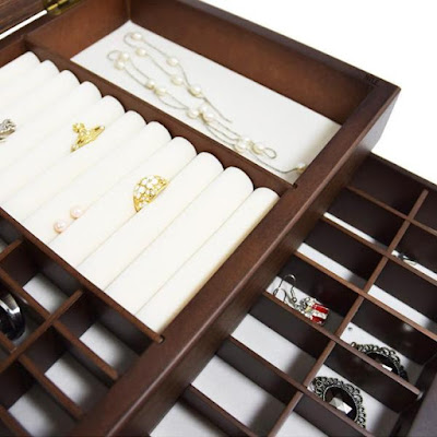 Shop Nile Corp Wooden Jewelry Organizer Box