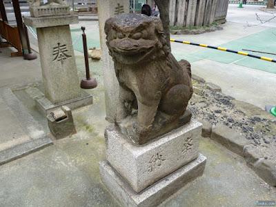 天神社豊光神社狛犬
