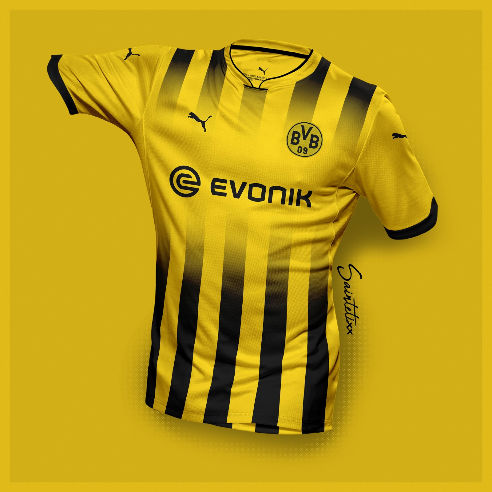 buy popular 62c31 24bea Incredible Puma Borussia Dortmund 19-20 Home, Away ...