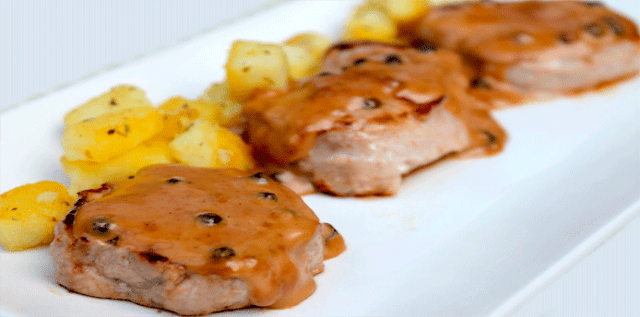 Receta de lomo a la española✅Disfruta de esta sencilla y deliciosa receta de Lomo o solomillo  de vaca, ternera o cerdo a la española muy fácil de preparar.