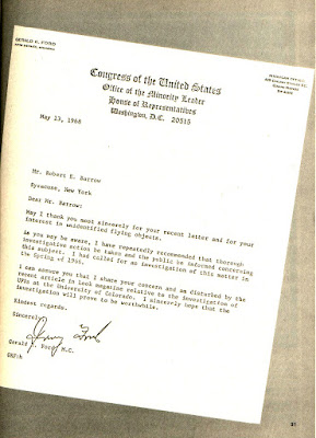 How Presidents Have Handled The Topic of UFOs (Pg 2) - By Robert Barrow - Argosy UFO 1977-78