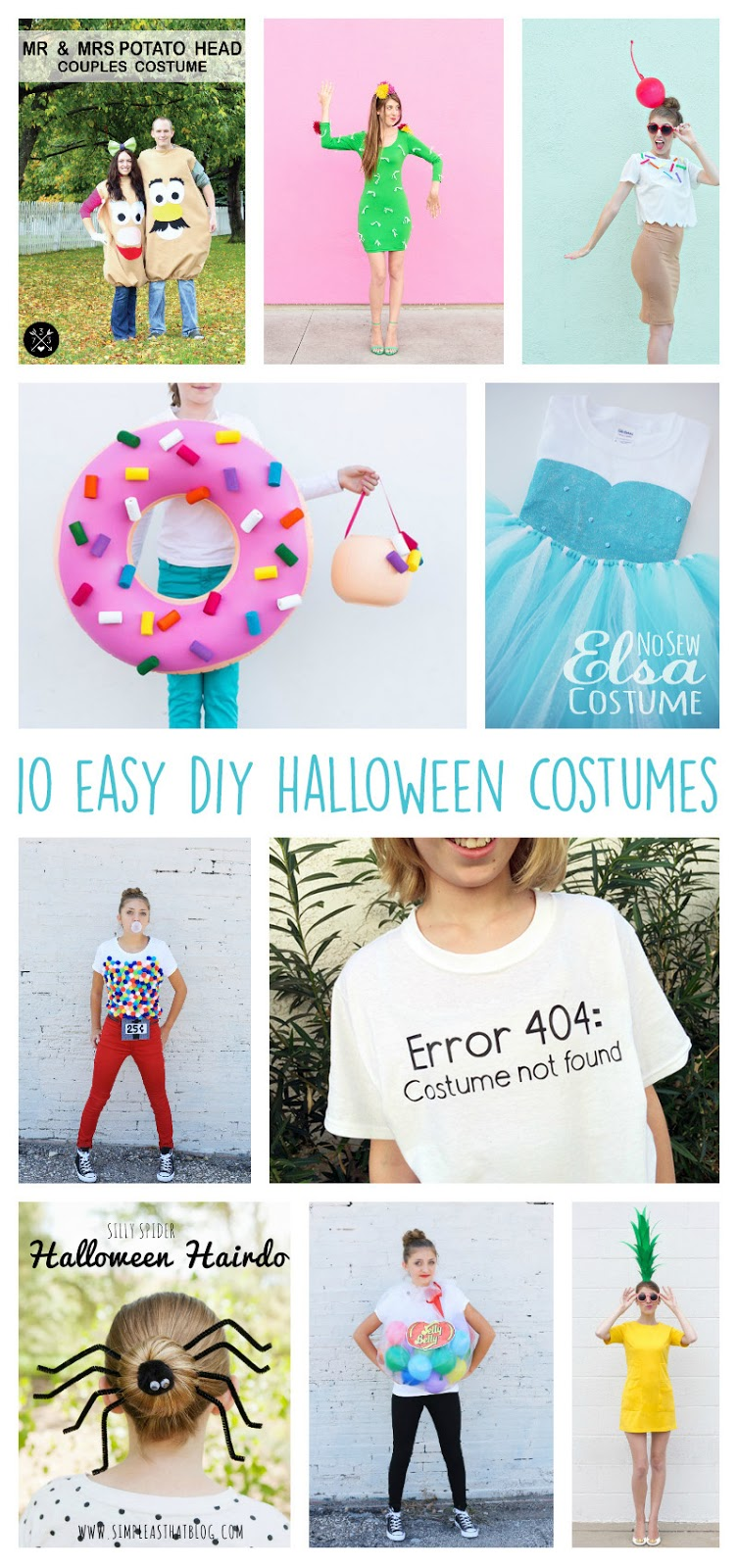 Aly Dosdall: 10 easy DIY halloween costumes