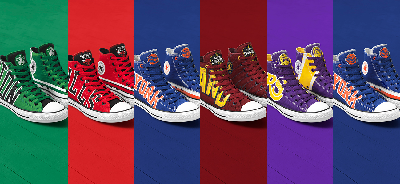 a46813e4742e The NBA Chuck Taylor All Star Collection is only available at Converse  shops in Festival Mall