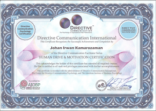 Certified Emotional Driver (Human Drive and Motivation)
