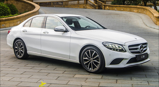 Thiết kế ngoại thất Mercedes C200 2019