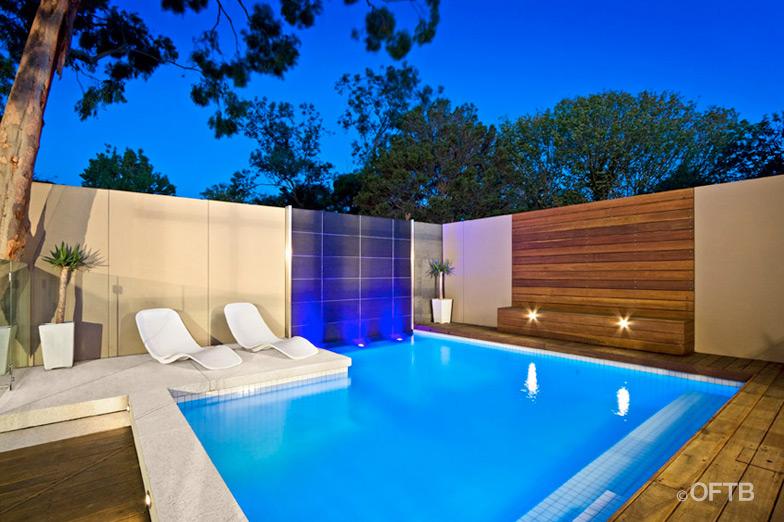 Fotos de piscinas hermosas ideas para decorar dise ar y for Diseno de casas con piscina interior